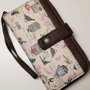 Handbags - Bird and feather wallet